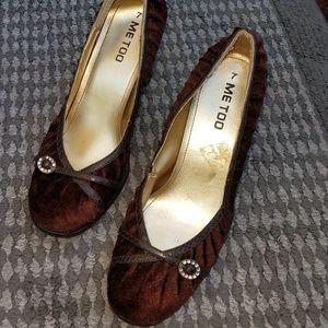 Me too size 7 heels